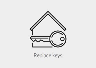 Replace keys with chip implant